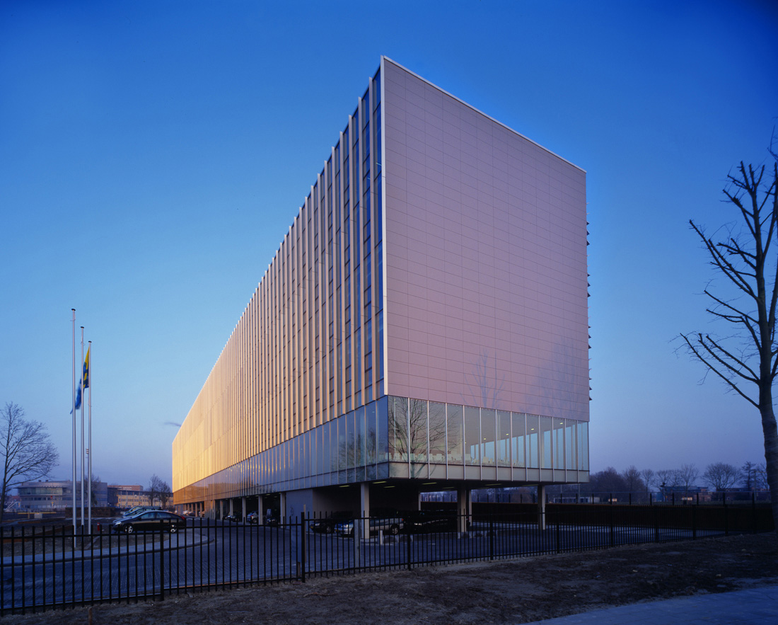 NoordPool's headquarters at the Rijkswaterstaat office building (Middelburg, Netherlands)